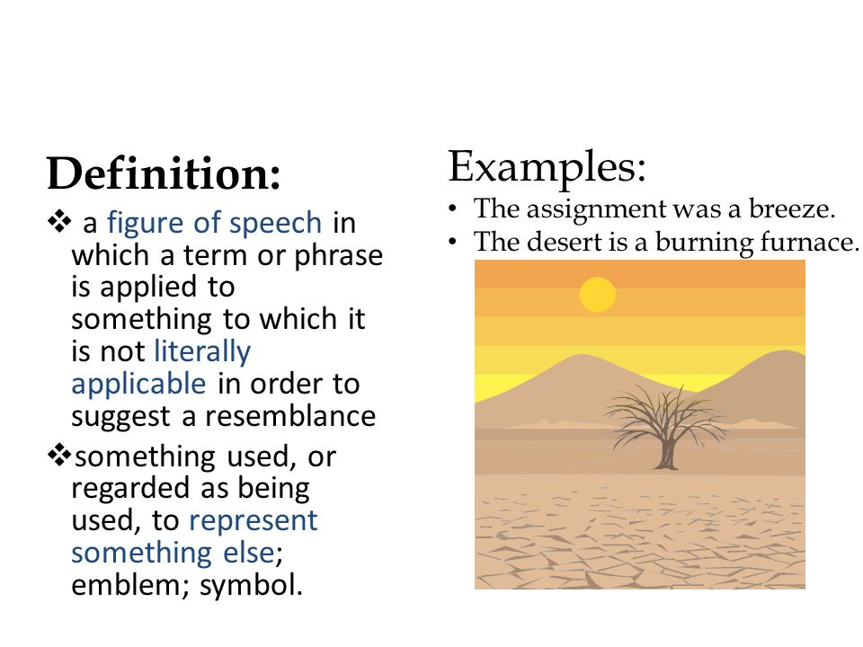 Definition: Examples: