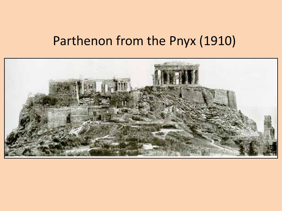 Parthenon from the Pnyx (1910)
