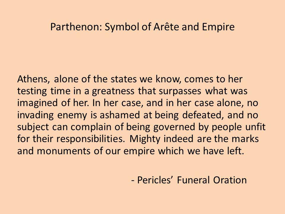 Parthenon: Symbol of Arête and Empire