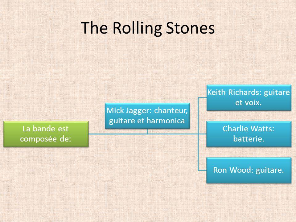 The Rolling Stones La bande est composée de: