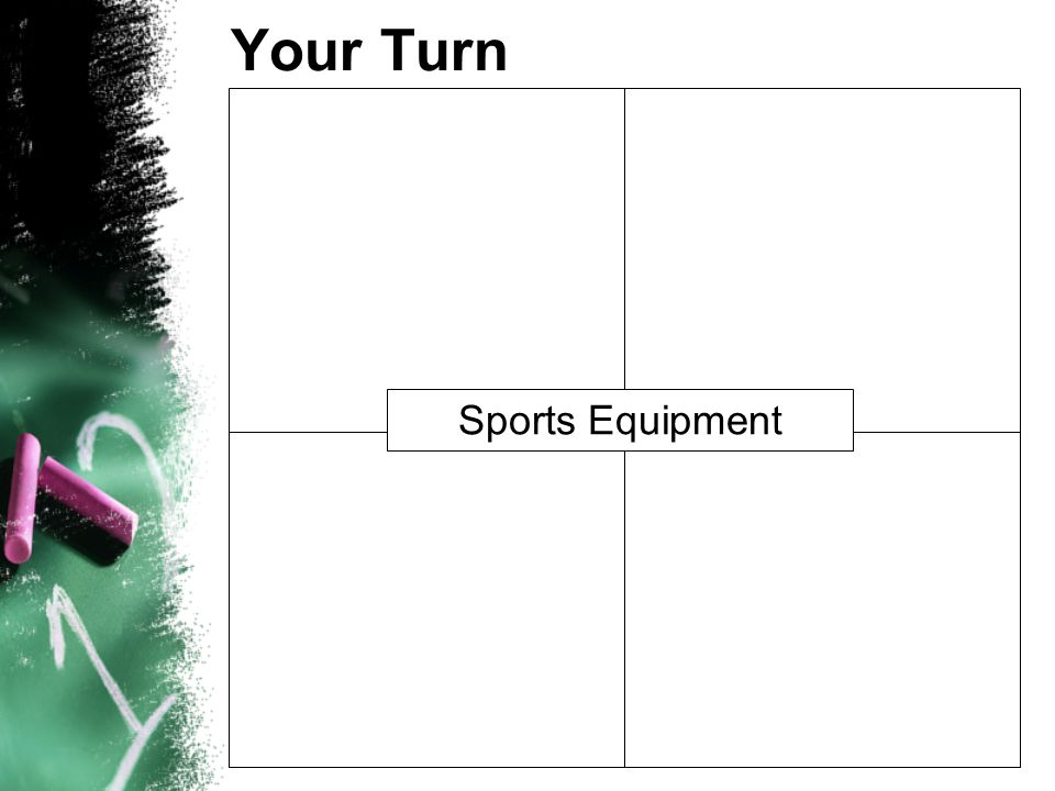 Your Turn Sports Equipment