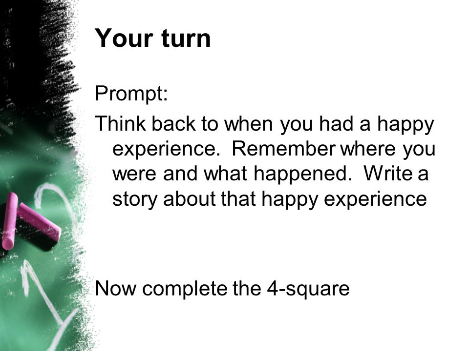 Your turn Prompt: