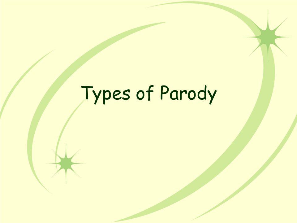 Types of Parody