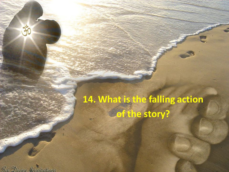 14. What is the falling action of the story