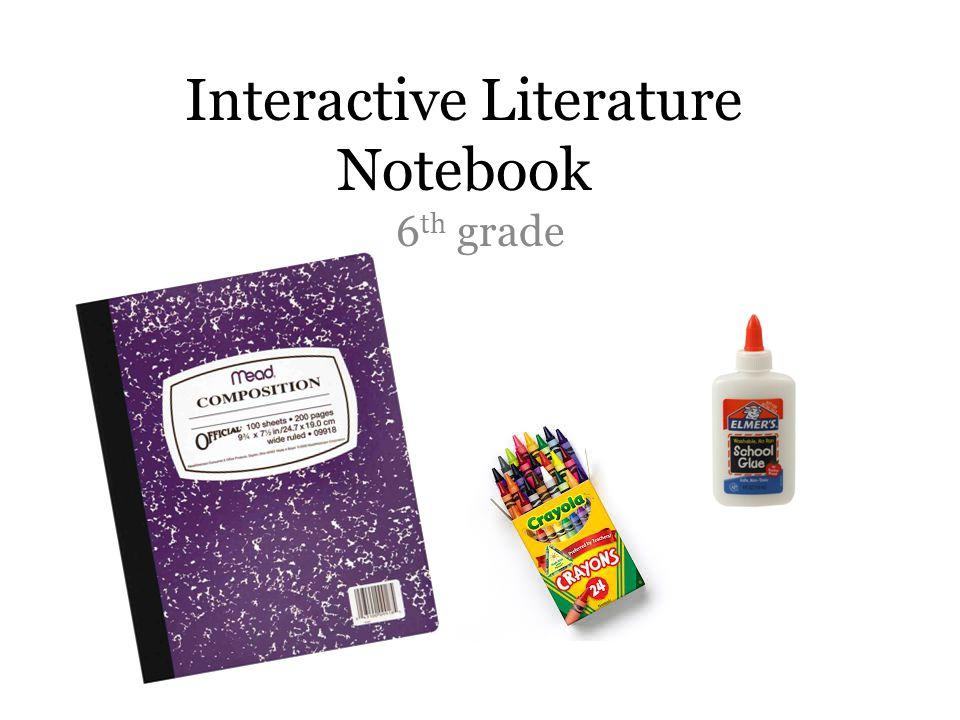 Interactive Literature Notebook