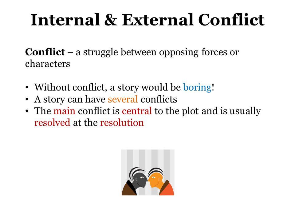 Internal & External Conflict