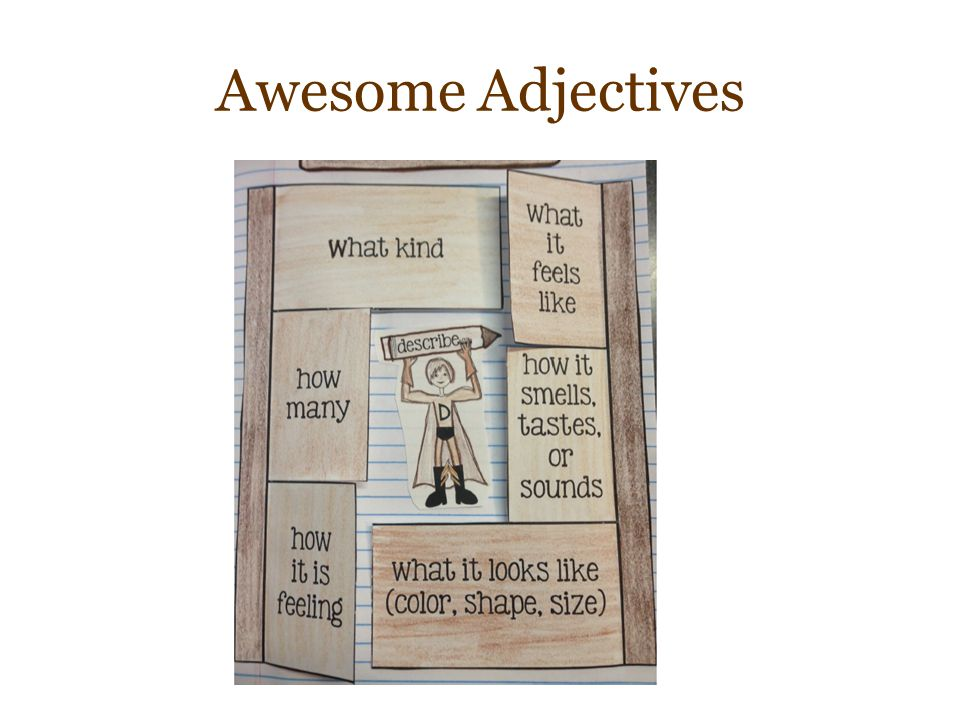 Awesome Adjectives