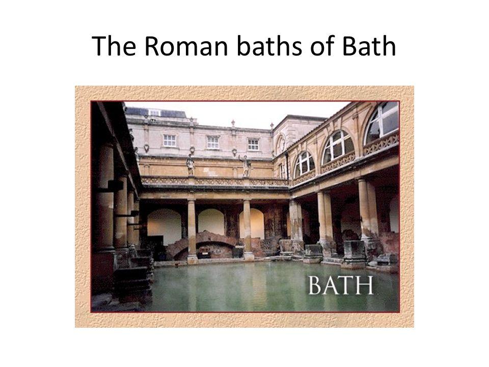 The Roman baths of Bath
