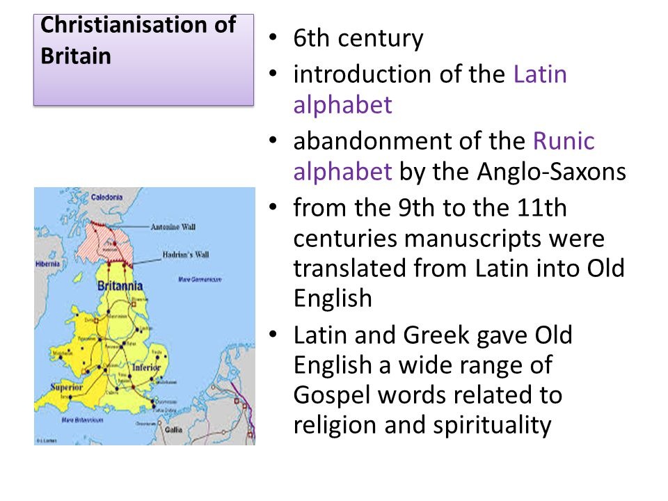 Christianisation of Britain