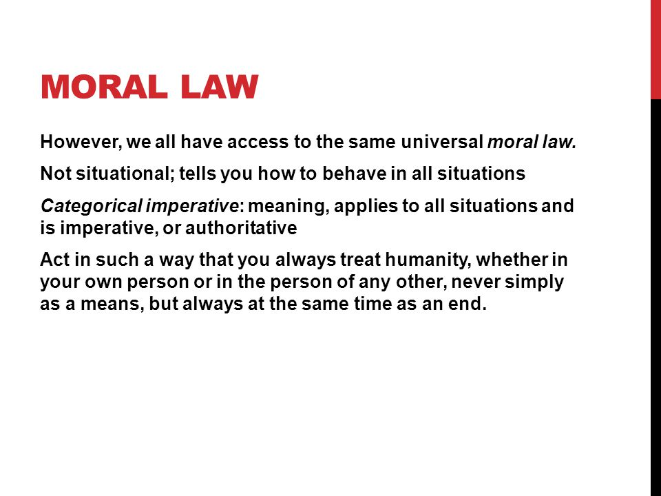 Moral Law