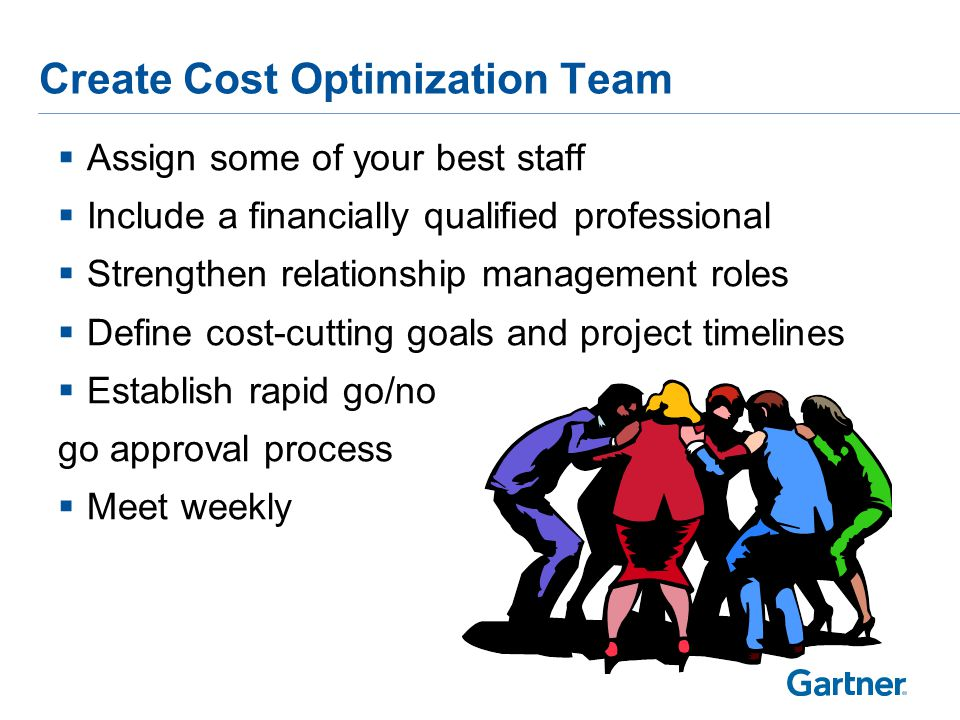 IT Cost Optimization Program Formulation