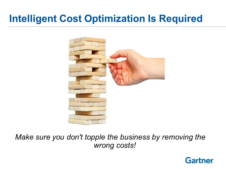 Key Issues What is Cost Optimization and how should IT leaders use this to make cost savings decisions