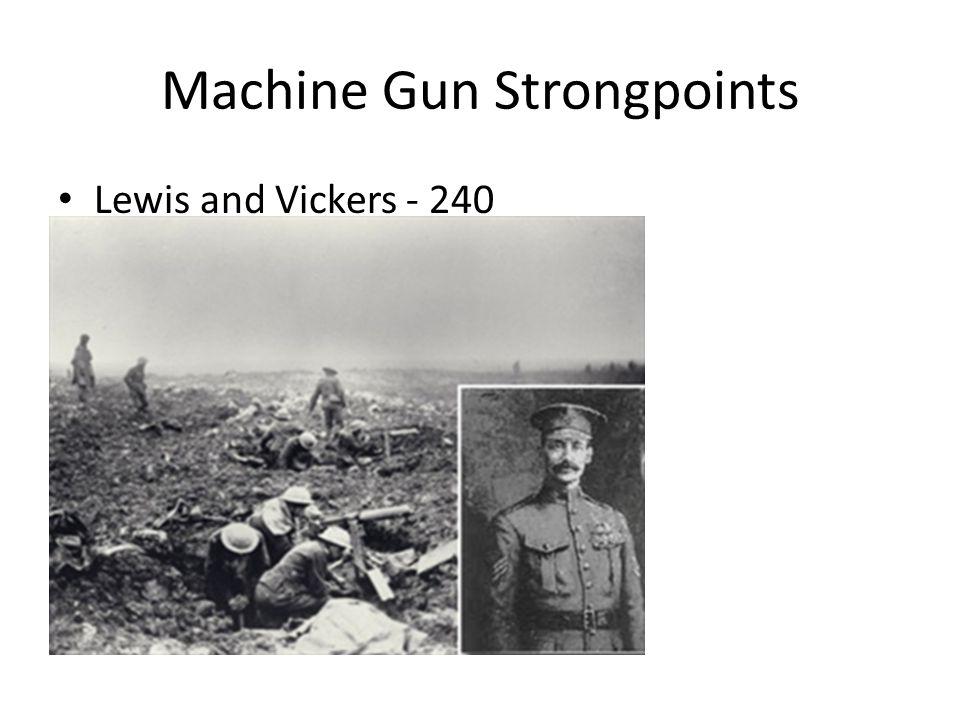 Machine Gun Strongpoints