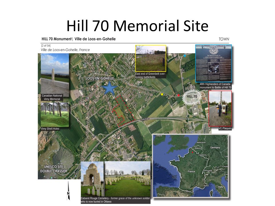 Hill 70 Memorial Site