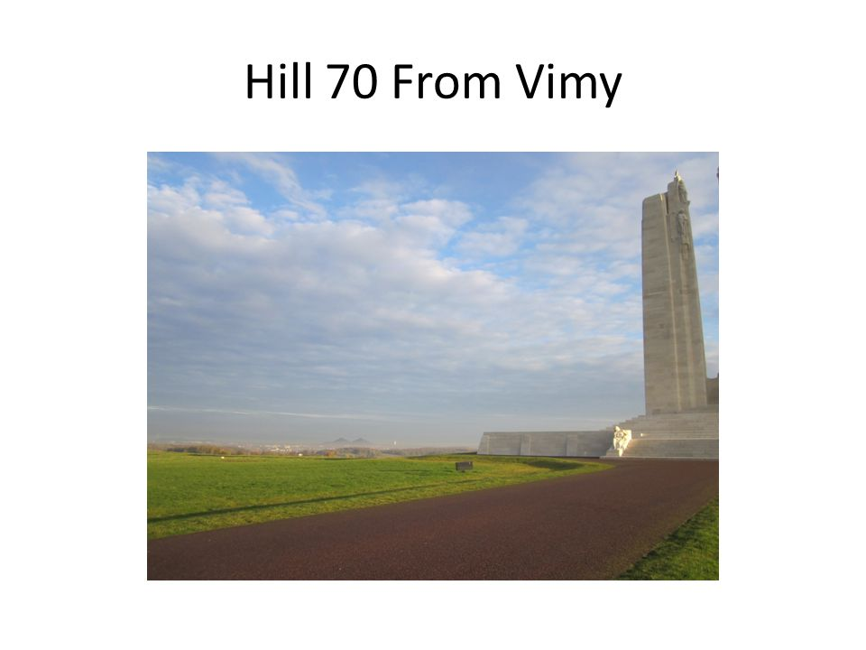 Hill 70 From Vimy