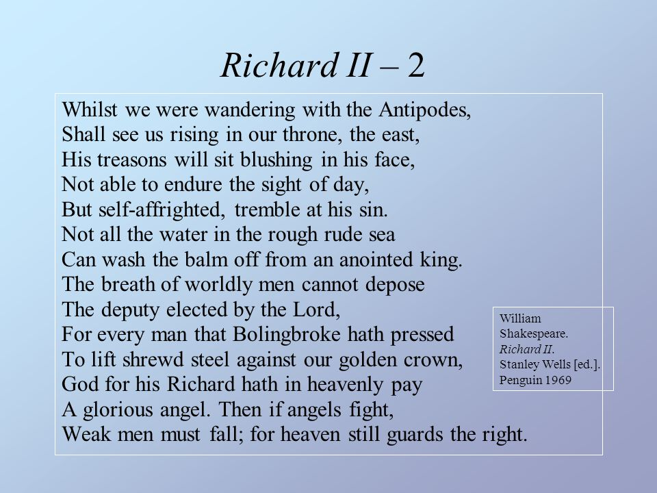 Richard II – 2