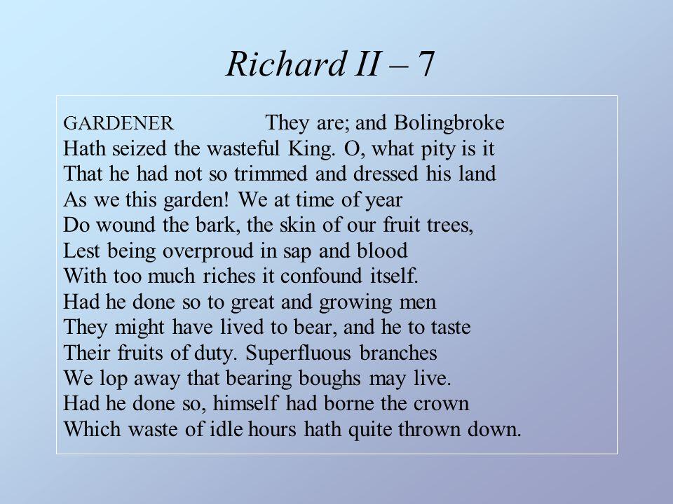Richard II – 7
