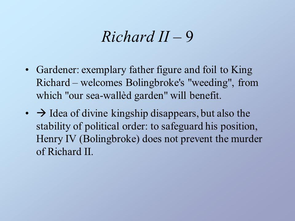 Richard II – 9
