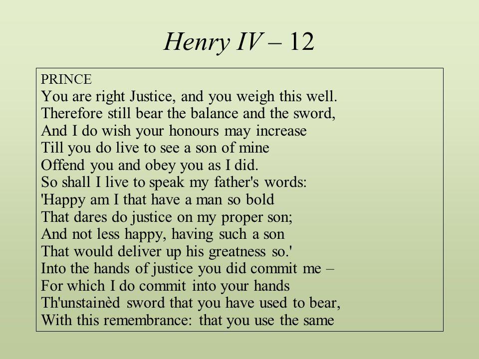 Henry IV – 12