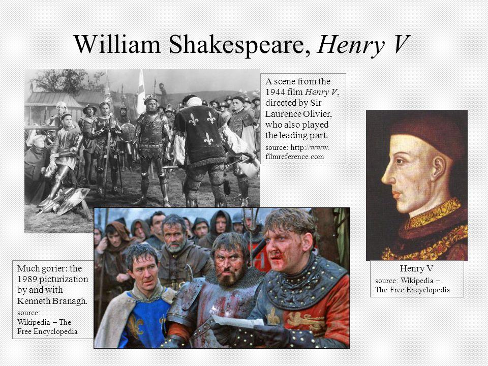 William Shakespeare, Henry V