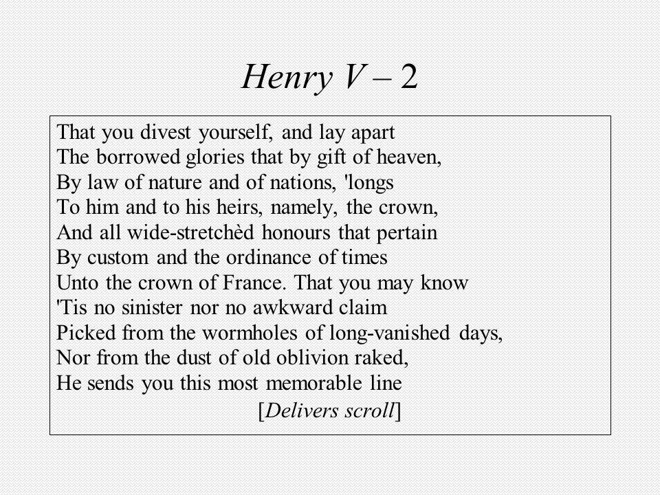 Henry V – 2