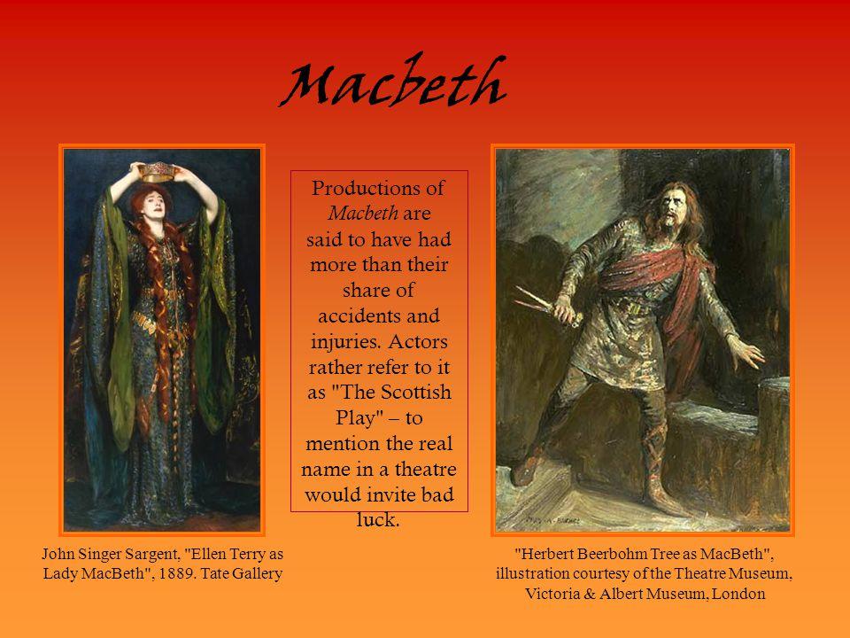 John Singer Sargent, Ellen Terry as Lady MacBeth , 1889. Tate Gallery