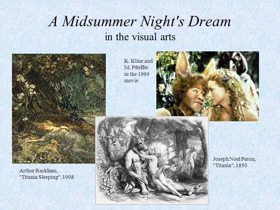 A Midsummer Night s Dream in the visual arts