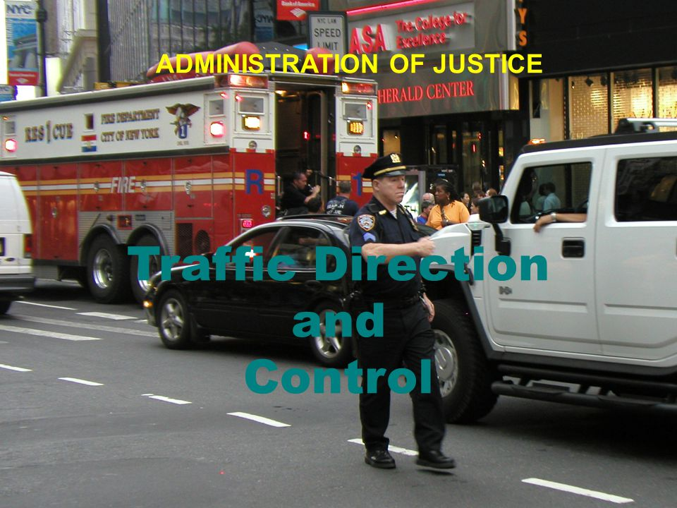 Traffic Direction and Control