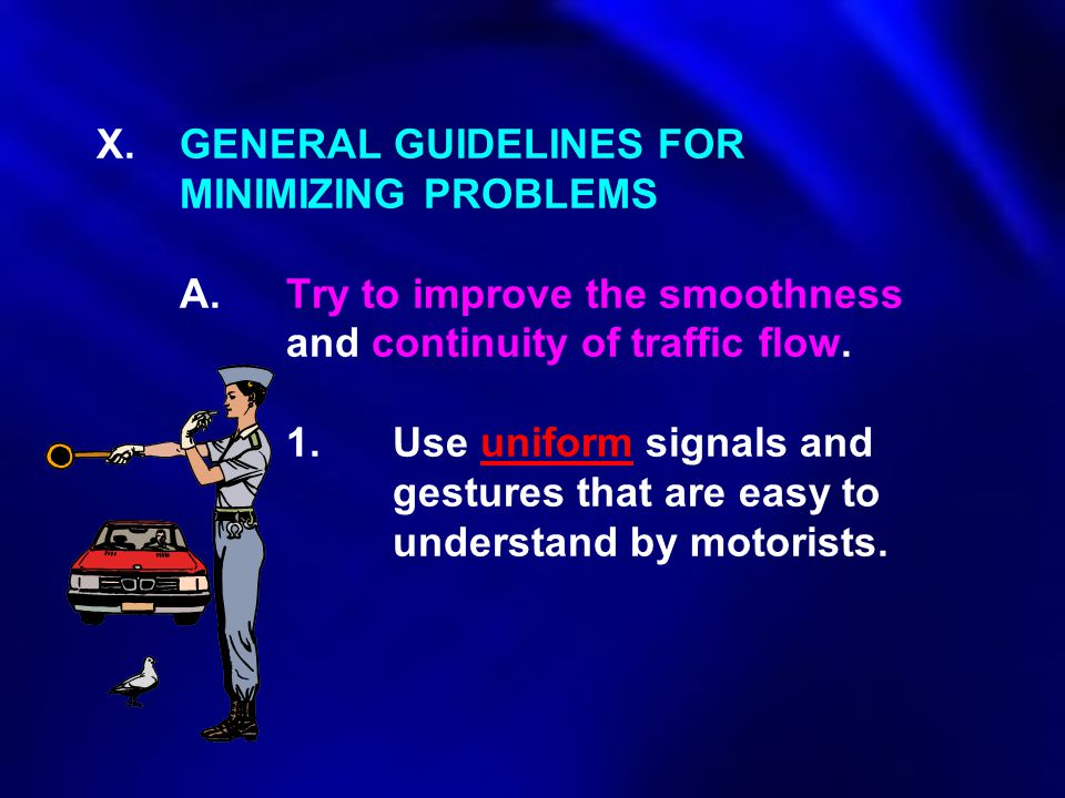 X. GENERAL GUIDELINES FOR. MINIMIZING PROBLEMS. A