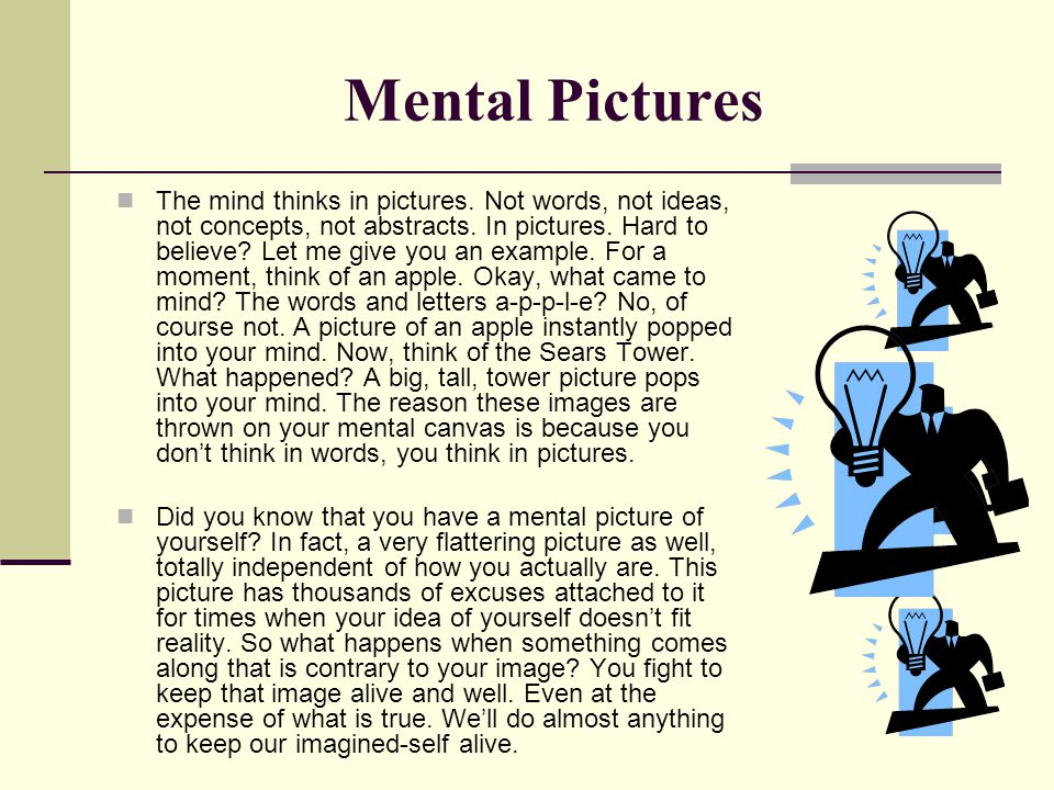 Mental Pictures