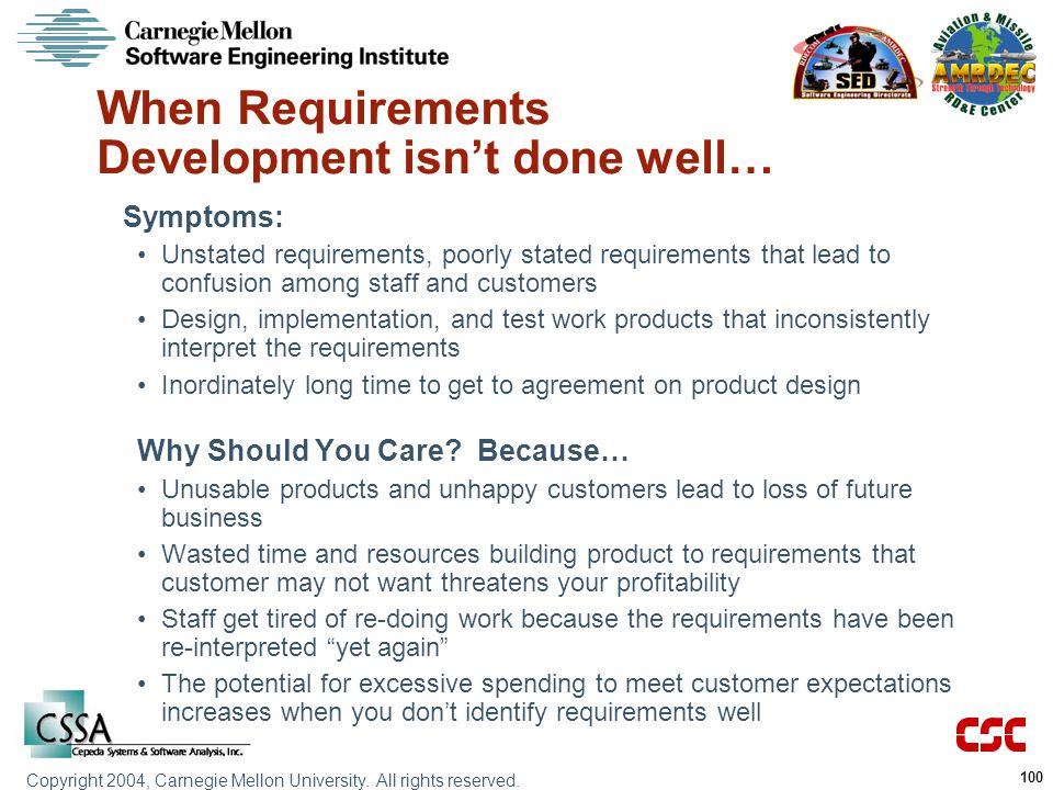 When Requirements Development isn't done well…
