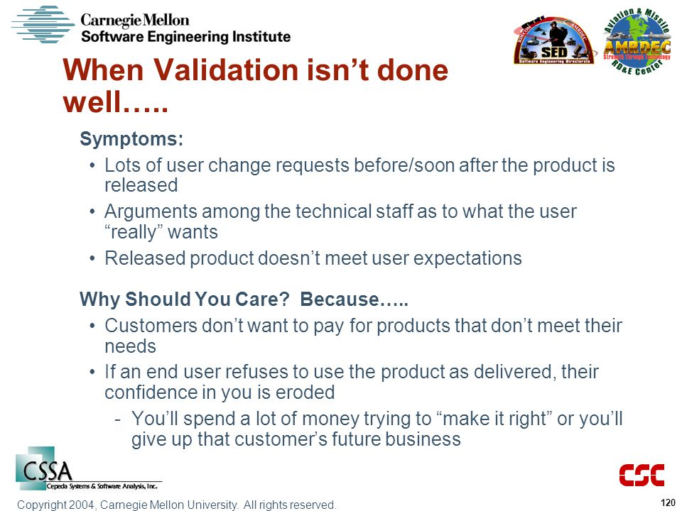When Validation isn't done well…..