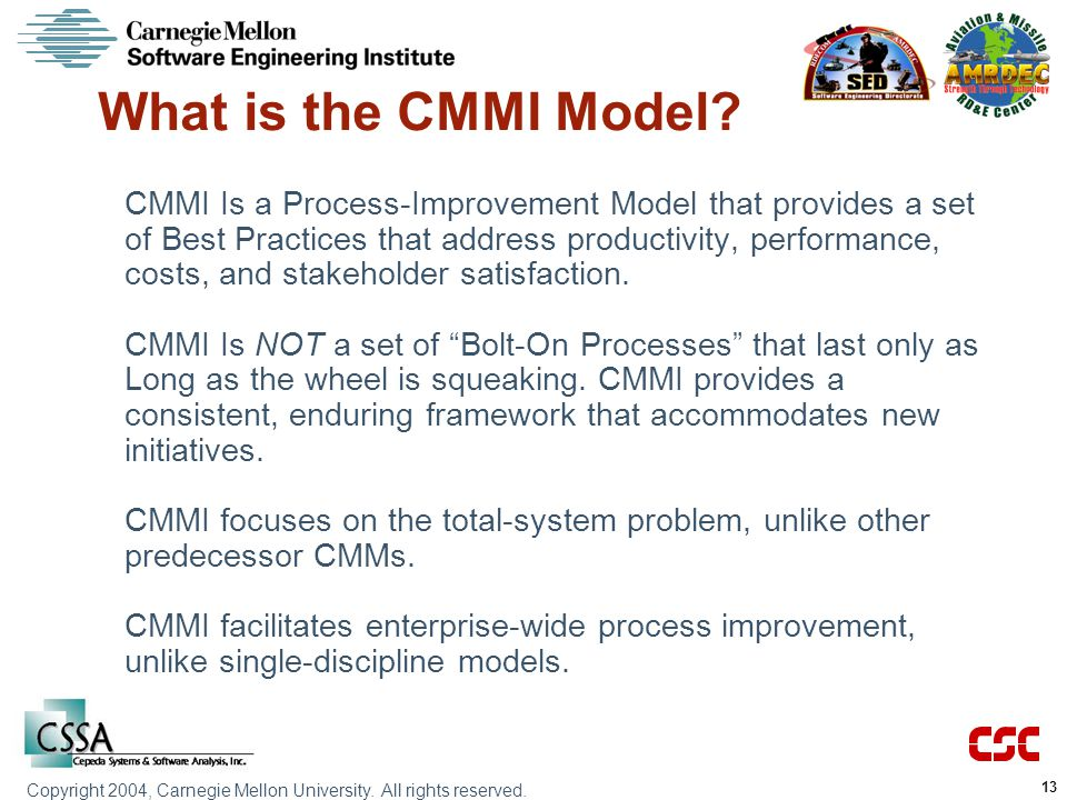 What is the CMMI Model