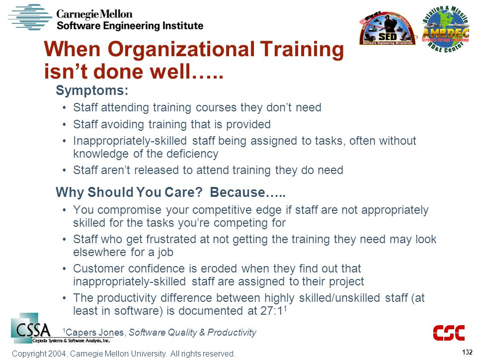 When Organizational Training isn't done well…..