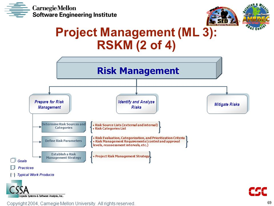 Project Management (ML 3): RSKM (2 of 4)