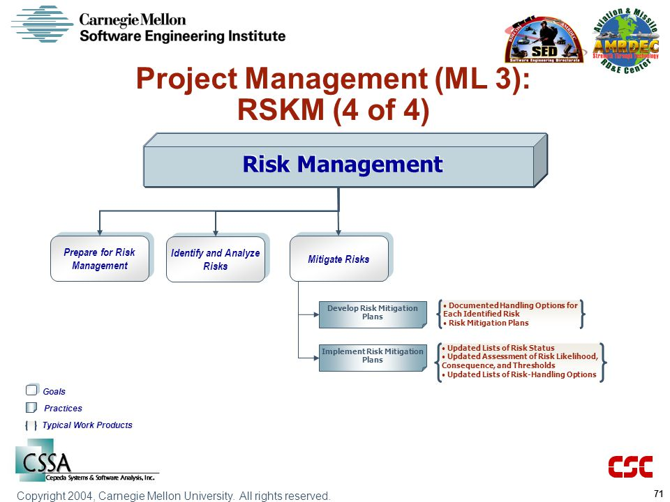 Project Management (ML 3): RSKM (4 of 4)