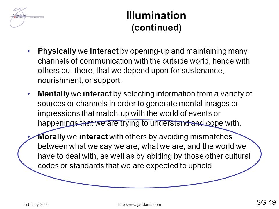 Illumination (continued)