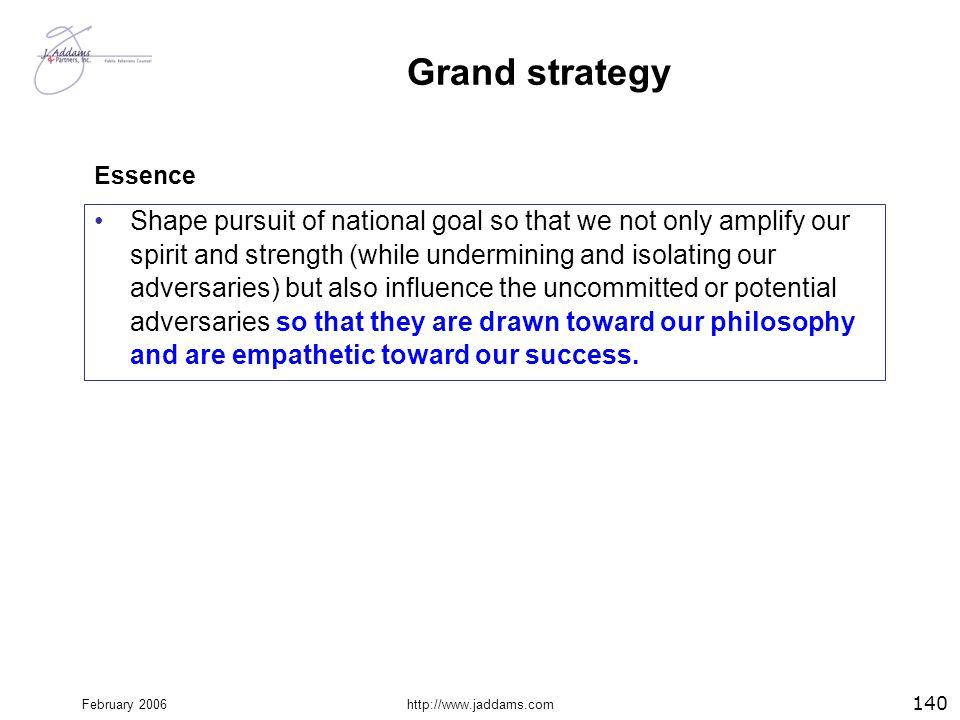Grand strategy Essence.