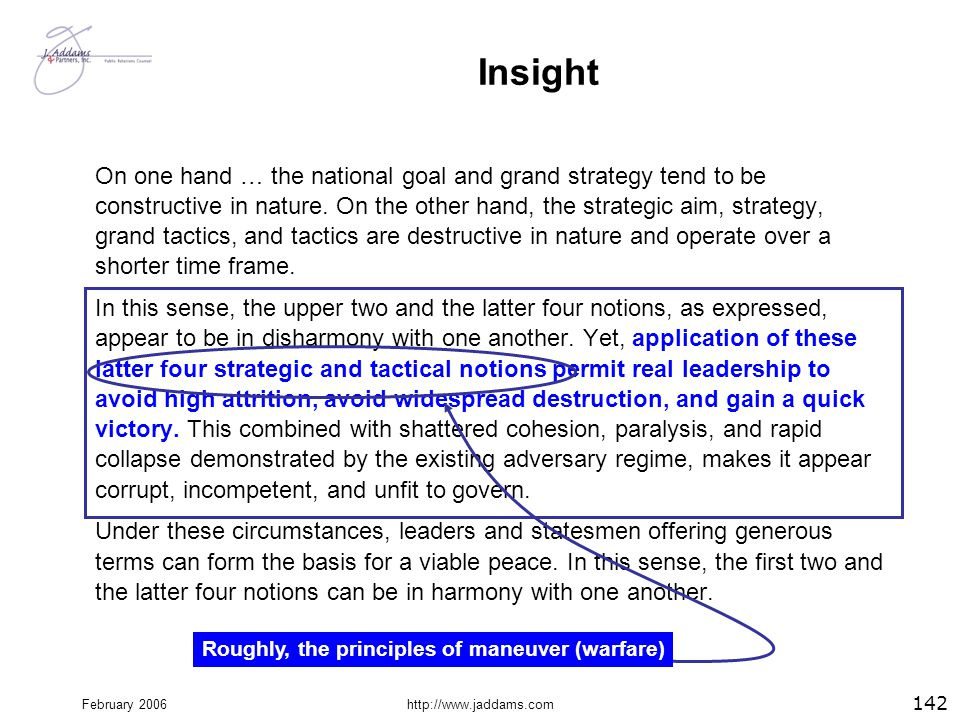 Roughly, the principles of maneuver (warfare)