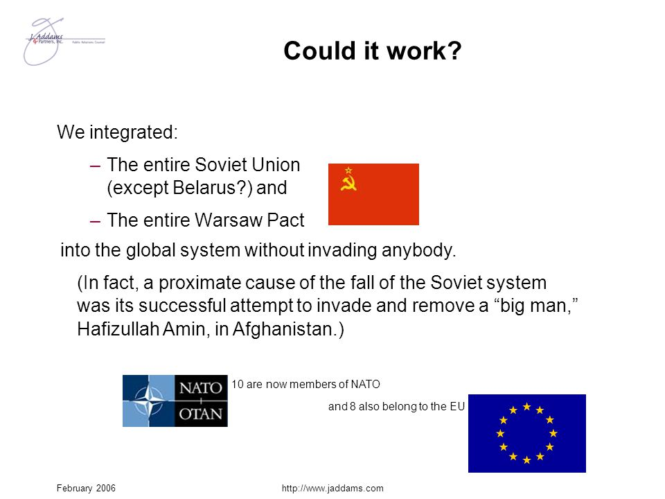 Could it work We integrated: