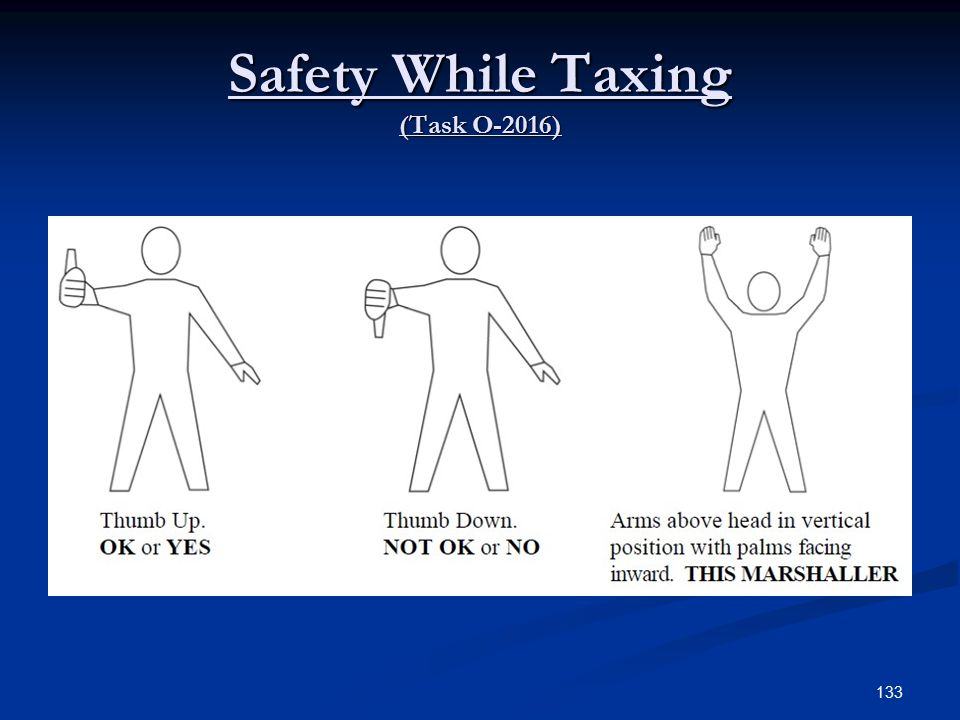 Safety While Taxing (Task O-2016)
