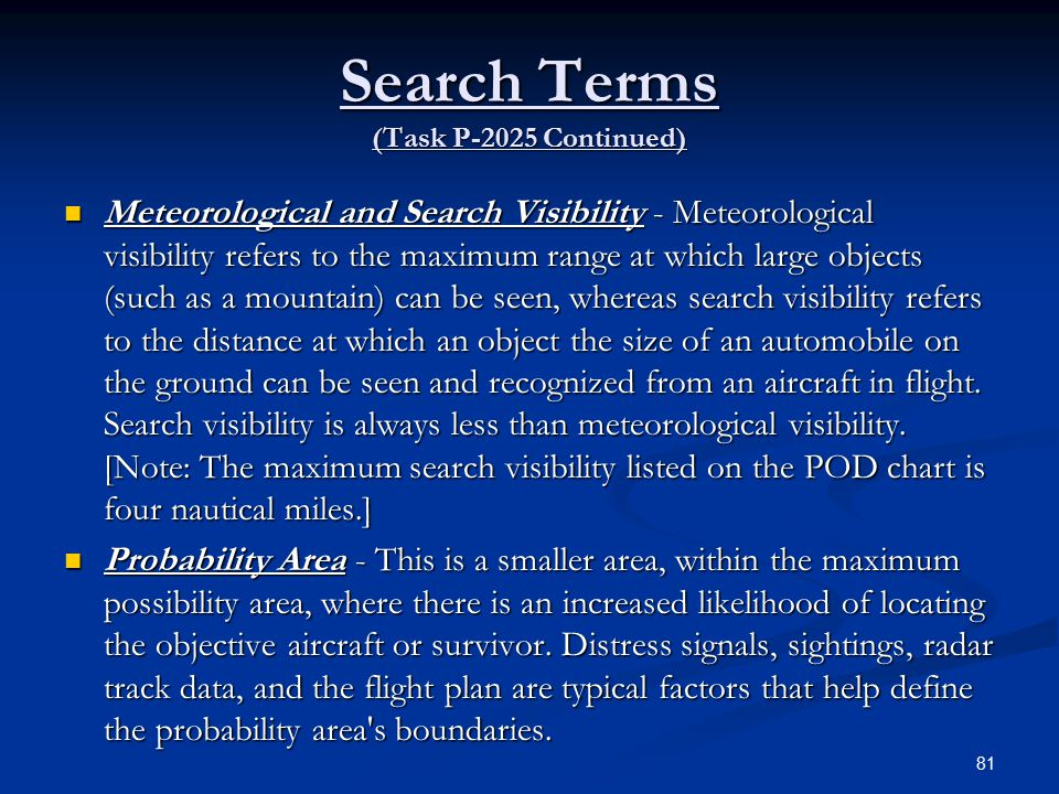 Search Terms (Task P-2025 Continued)