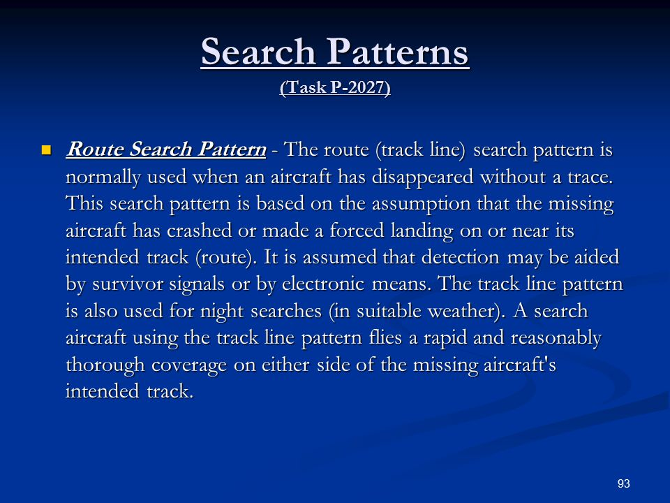 Search Patterns (Task P-2027)