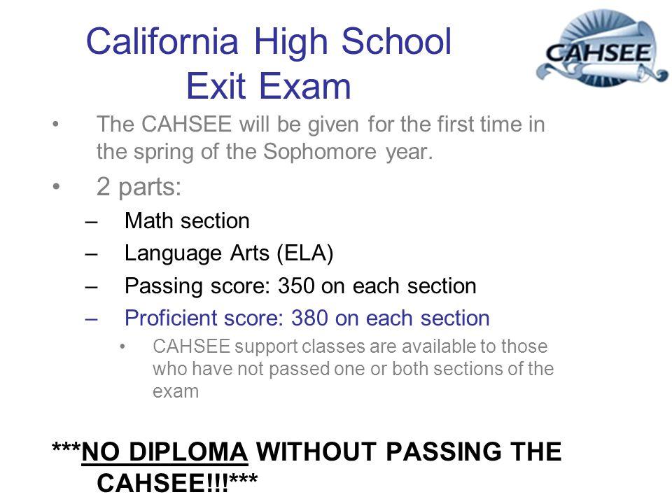 California High School Exit Exam