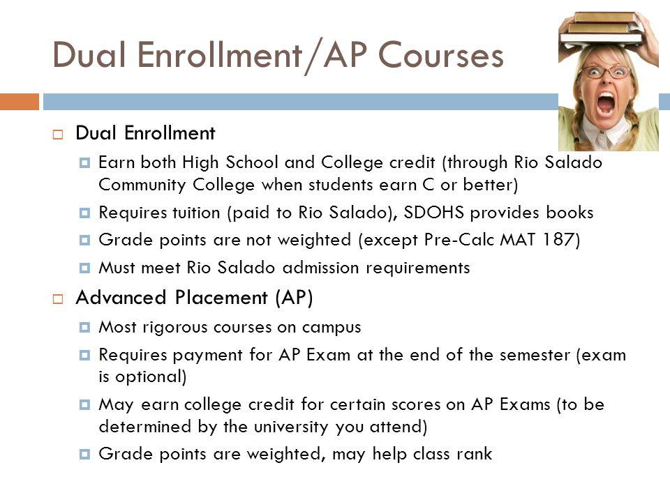 Dual Enrollment/AP Courses