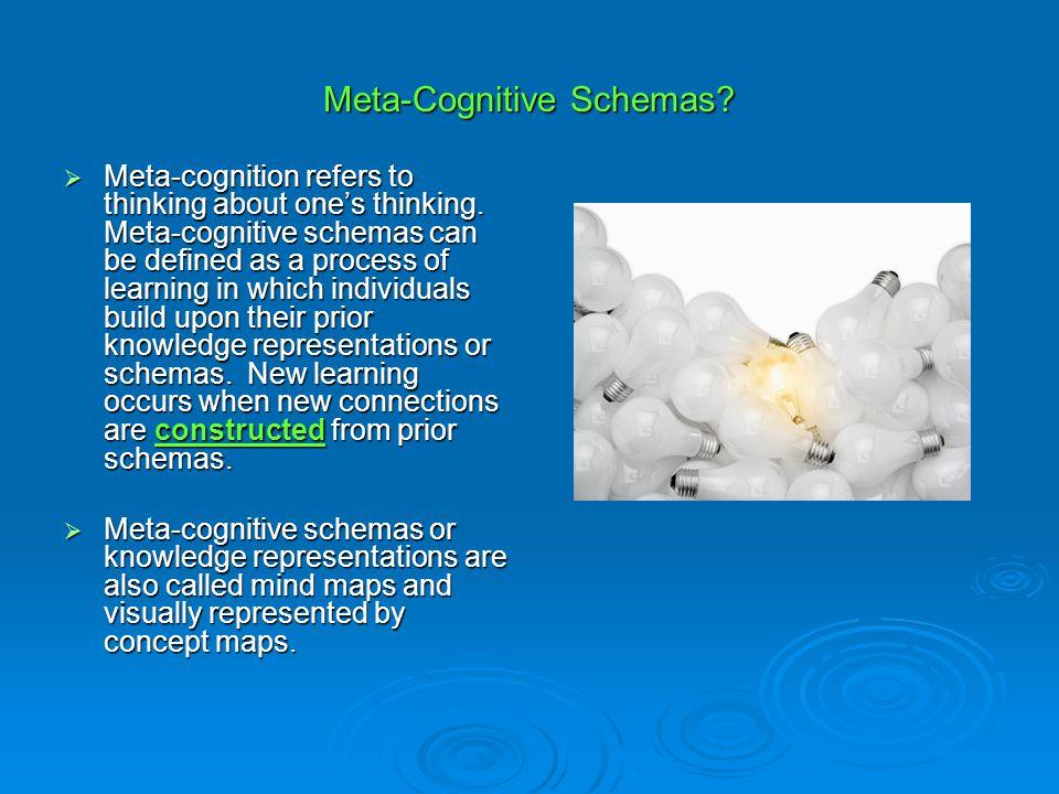 Meta-Cognitive Schemas