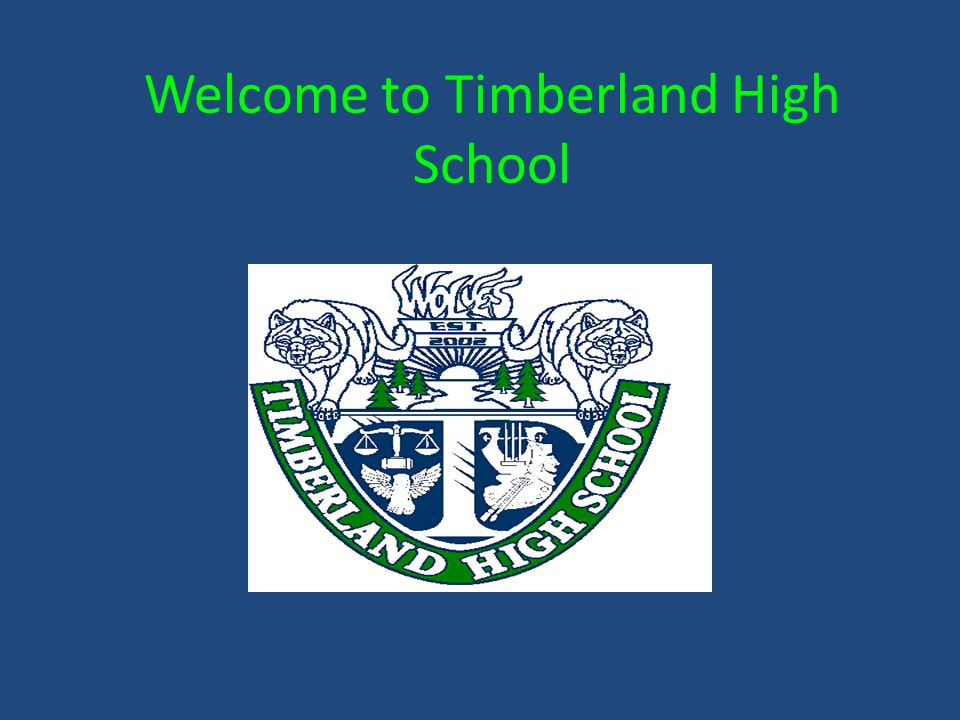 Welcome to Timberland High School