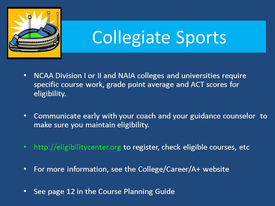 Collegiate Sports