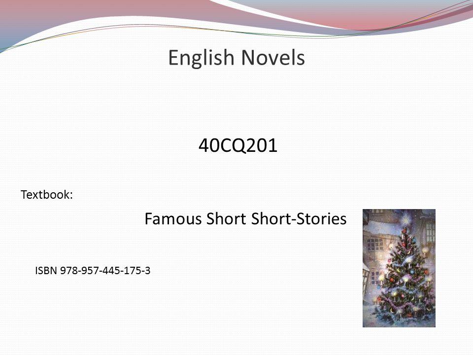Famous Short Short-Stories