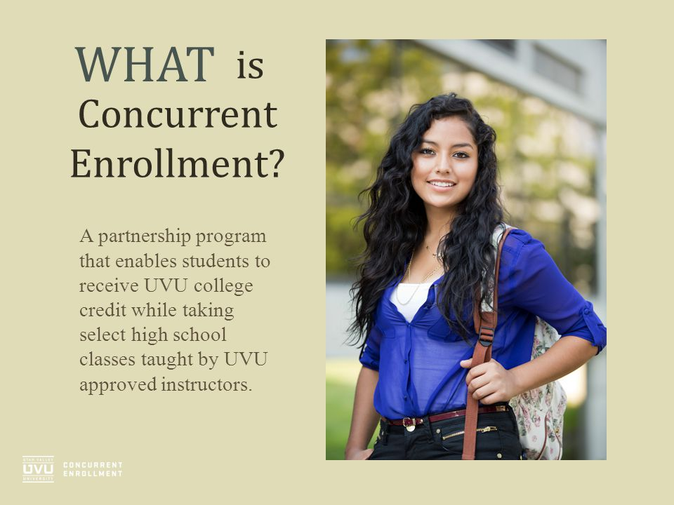 is Concurrent Enrollment